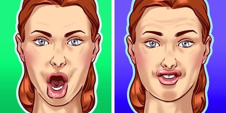8 động tác đơn giản giúp làm tiêu mỡ mặt